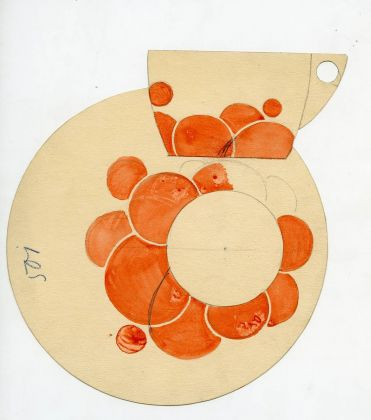 Jutta Sika, Design of the décor for a china set by the Vienna Porcelain Manufactory Josef Böck, 1901 © MAK