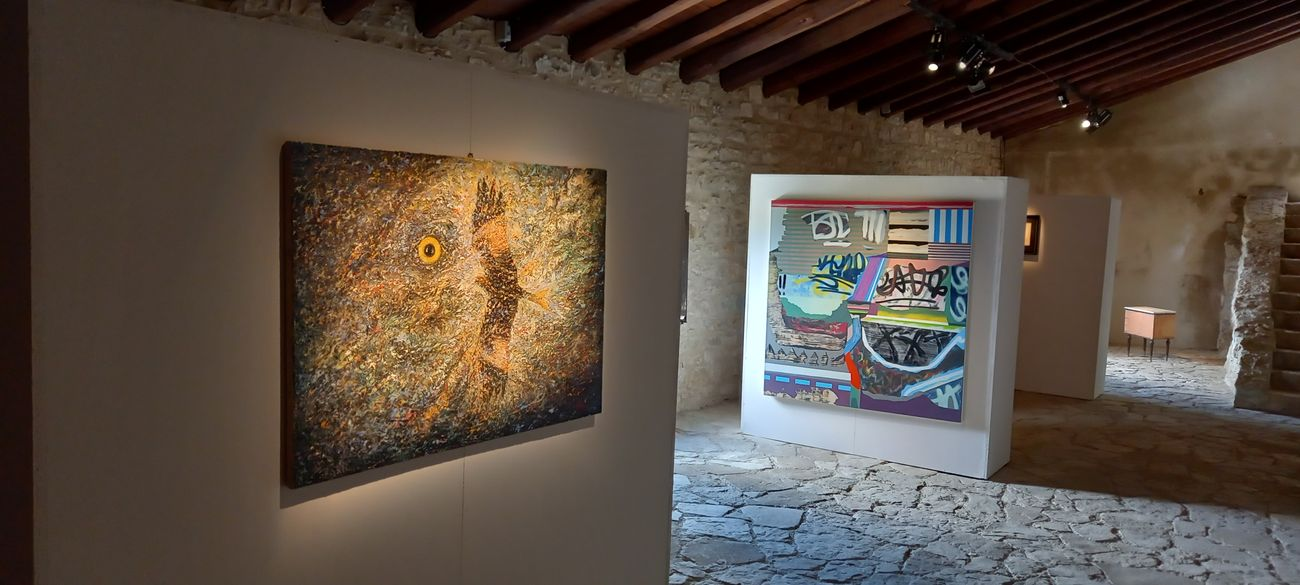 La Sicilia Fredda. Exhibition view at Eremo di Santa Rosalia, Santo Stefano di Quisquina 2021