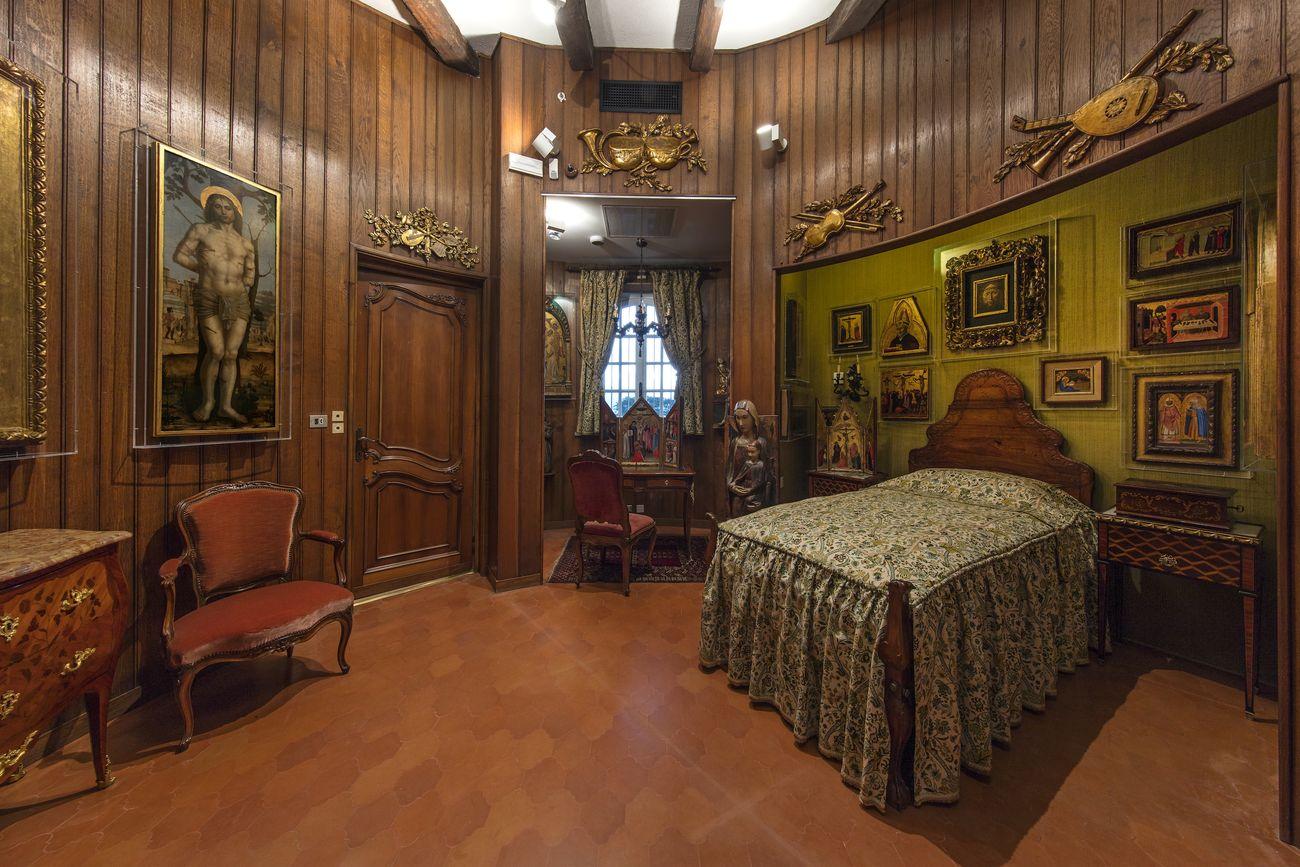 La camera nella torre, veduta d'installazione, Villa Cerruti, Rivoli, 2019. Photo Antonio Maniscalco