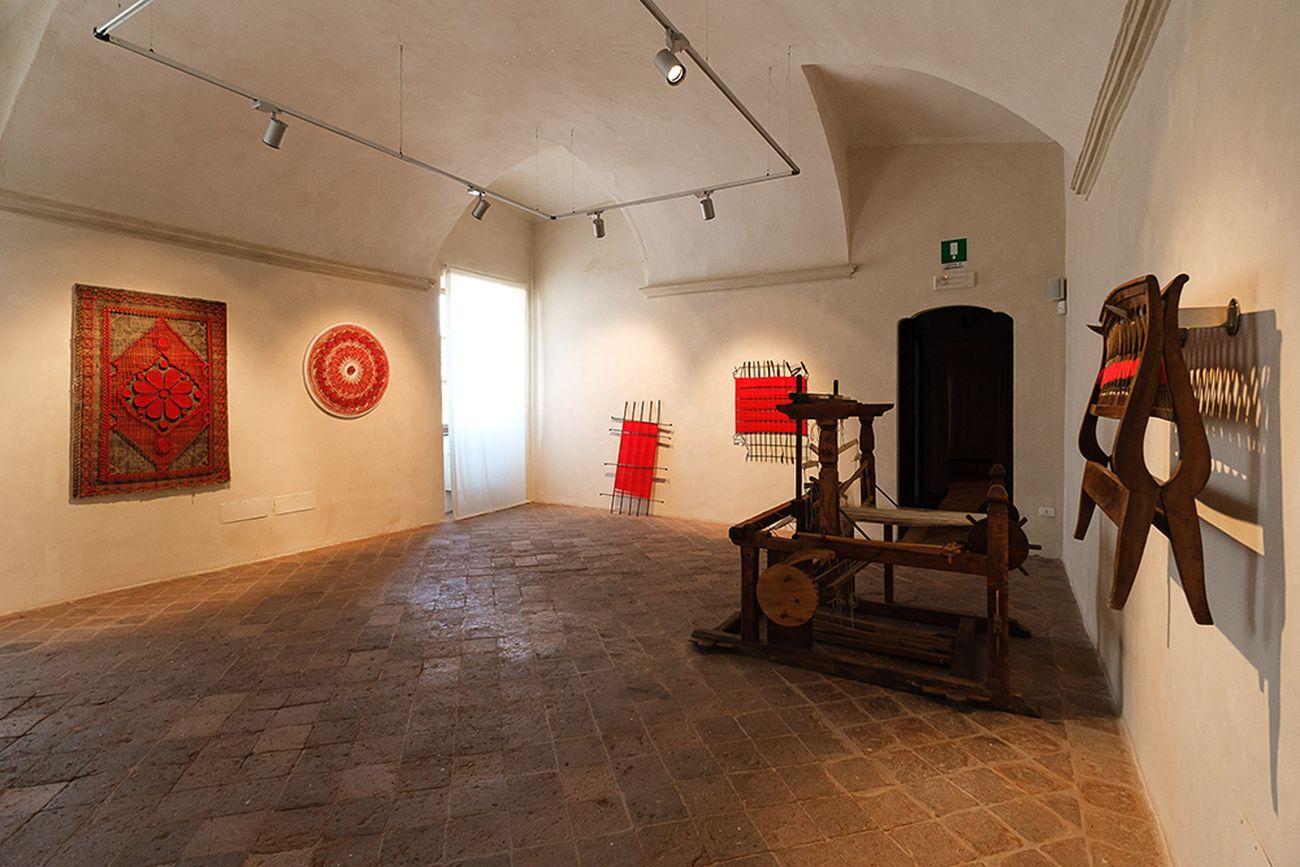 Letizia Cariello. Il tuo cielo è verde. Exhibition view at Il Filatoio, Caraglio 2021. Photo Mattia Gaido MAG Photos