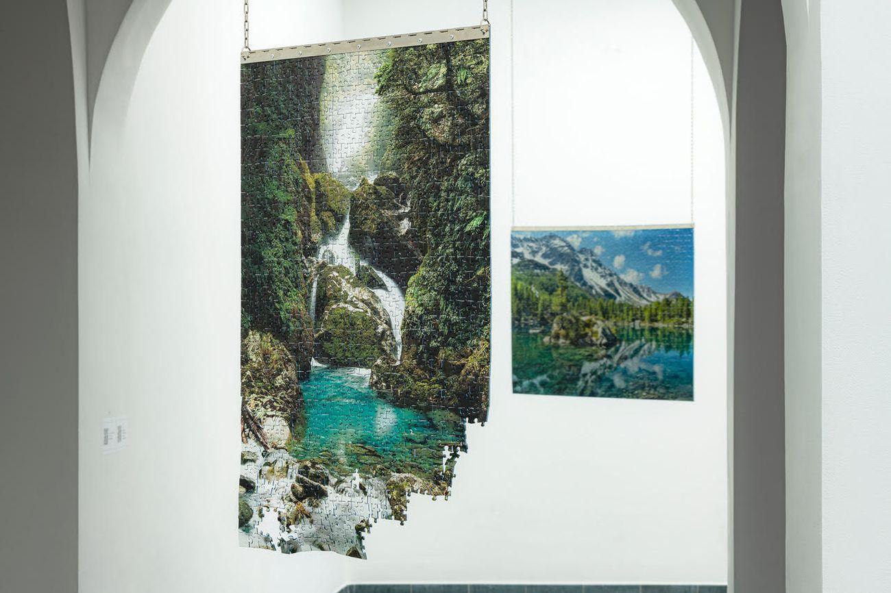 Lia Cecchin, OBE, 2021. Installation view at Museo Nazionale della Montagna, Torino 2021