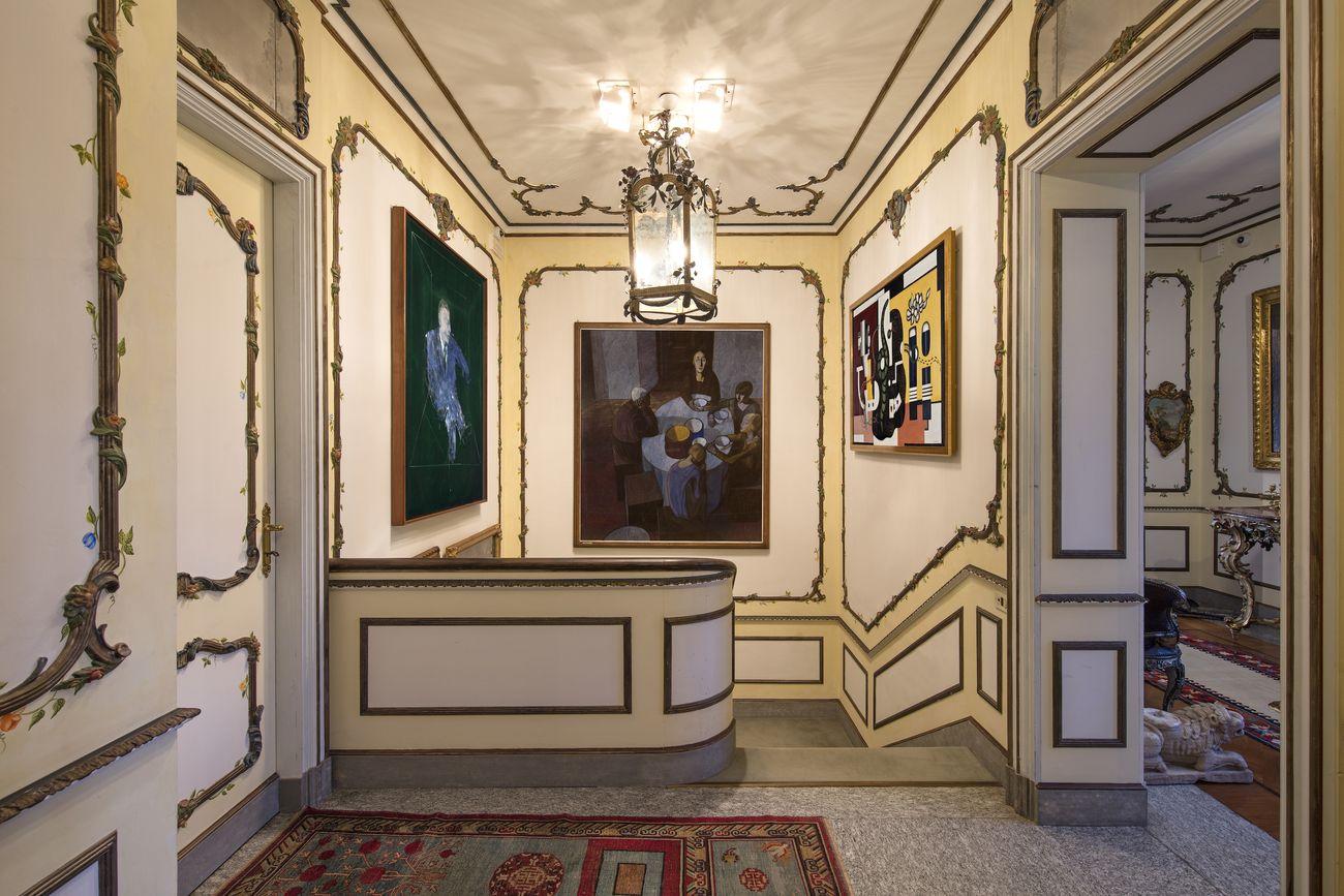 Lo scalone, veduta d'installazione, Villa Cerruti, Rivoli, 2019. Photo Antonio Maniscalco