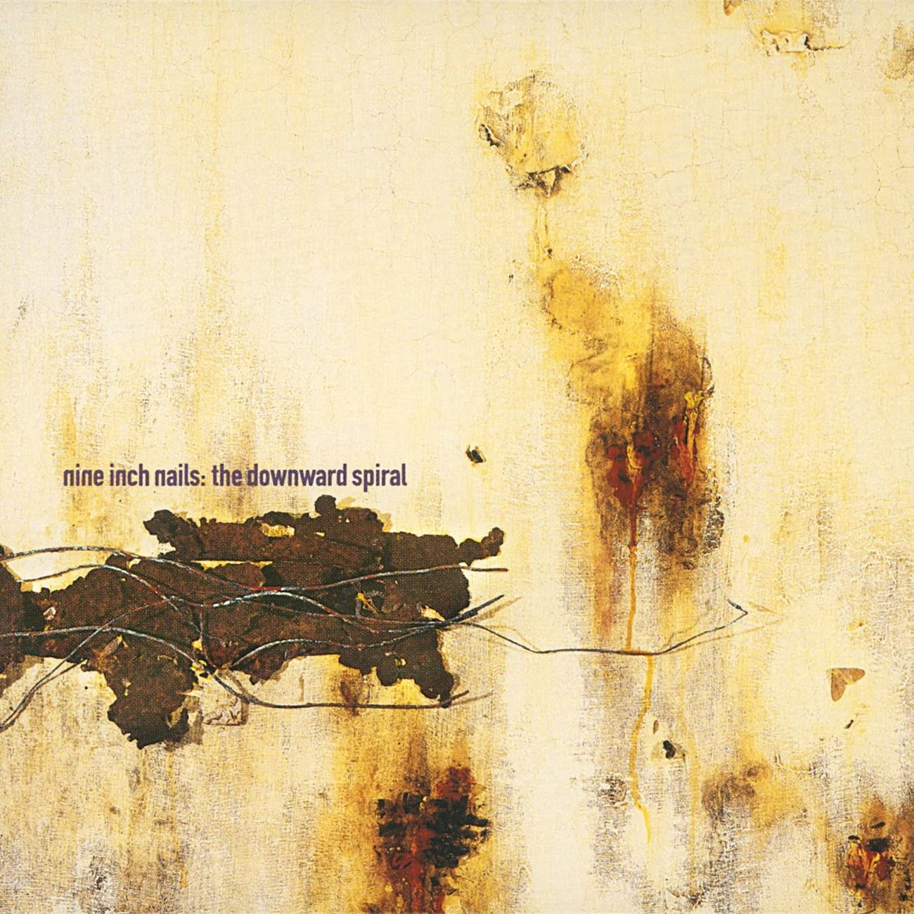 Nine Inch Nails, The Downward Spiral (1994), copertina dell'album