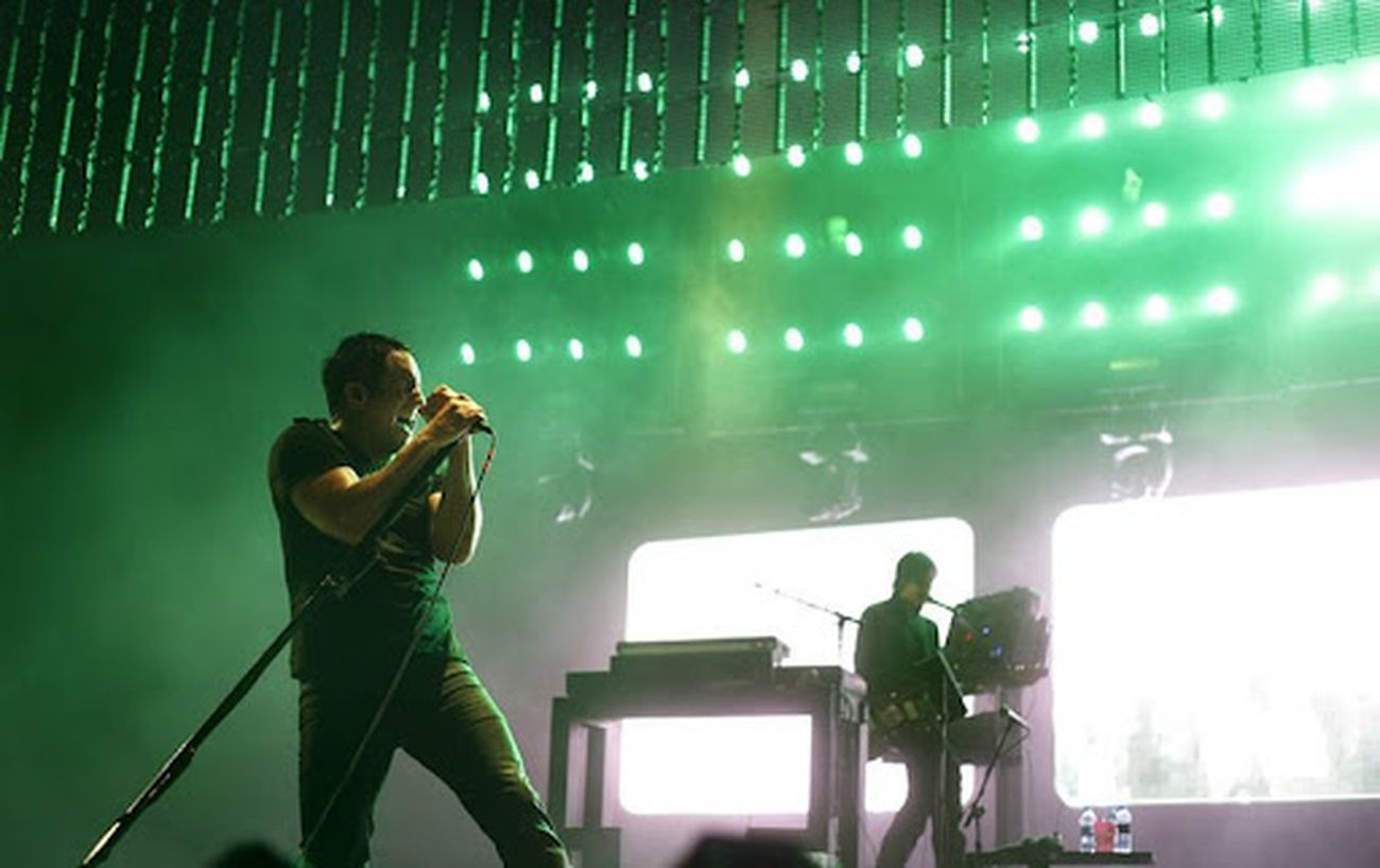 Nine Inch Nails, live 2009