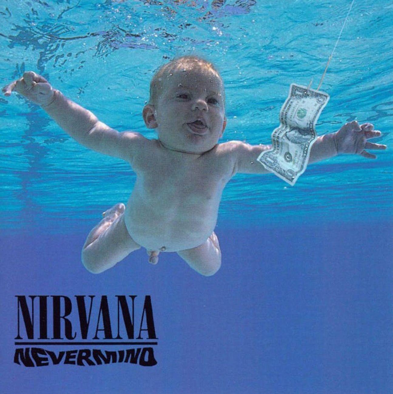 Nirvana, Nevermind (1991), copertina dell'album