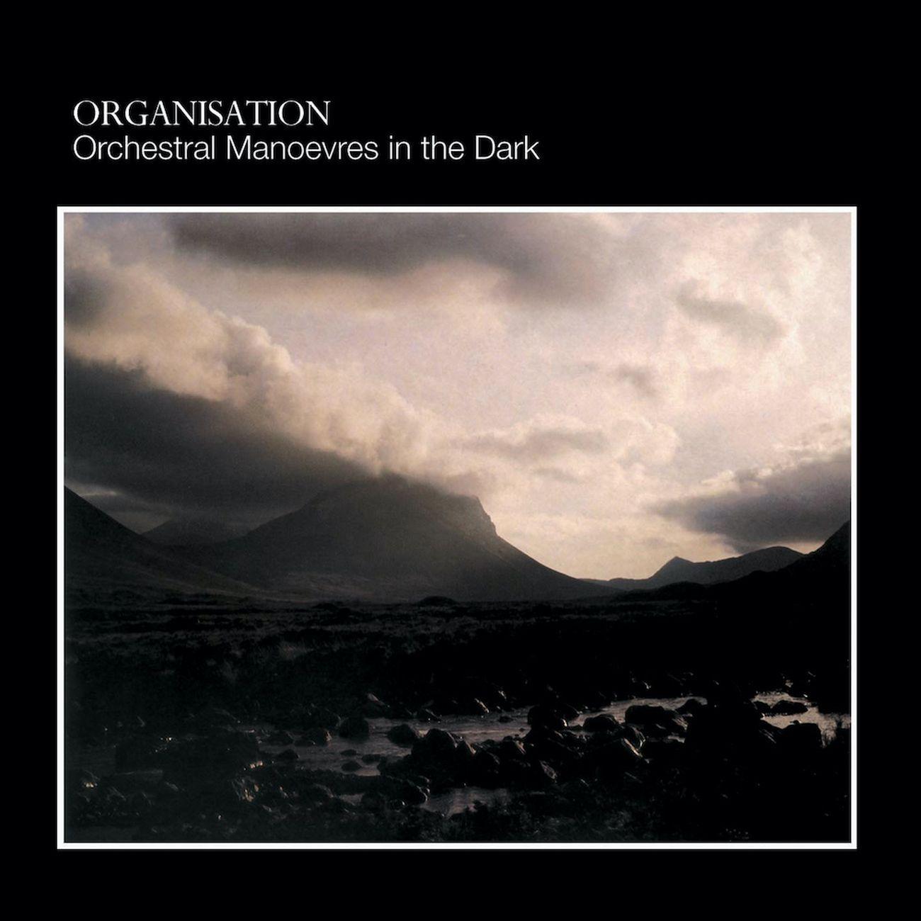 OMD, Organization (1980), copertina dell'album