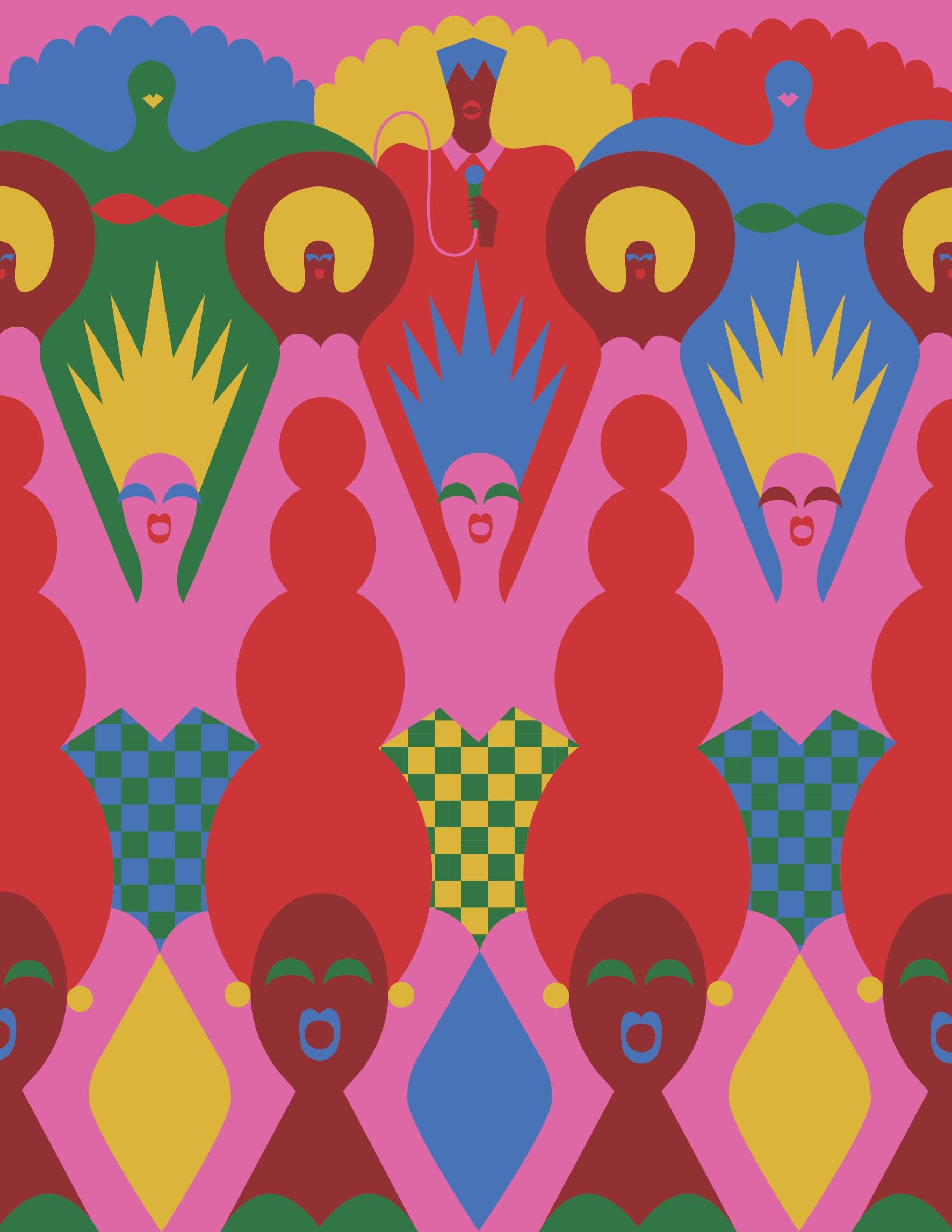 Olimpia Zagnoli, Dance Dance Dance, The New Yorker, 2017