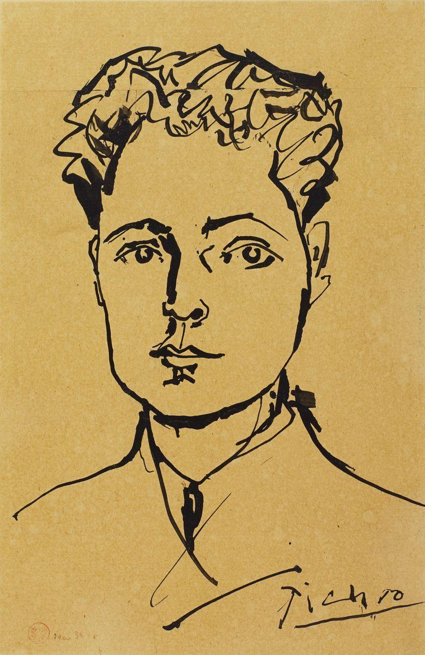 Pablo Picasso, Henri Martin, 1951, litografia su carta © Succession Picasso 2021 – Musée d'art et d'histoire Paul Eluard, Saint Denis. Photo I. Andréani
