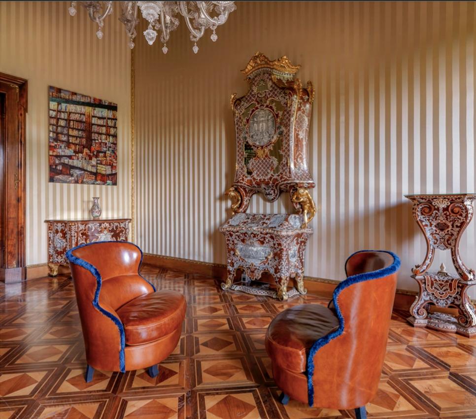 Paola Navone, Baxter, Sala dei Piffetti, Palazzo del Quirinale
