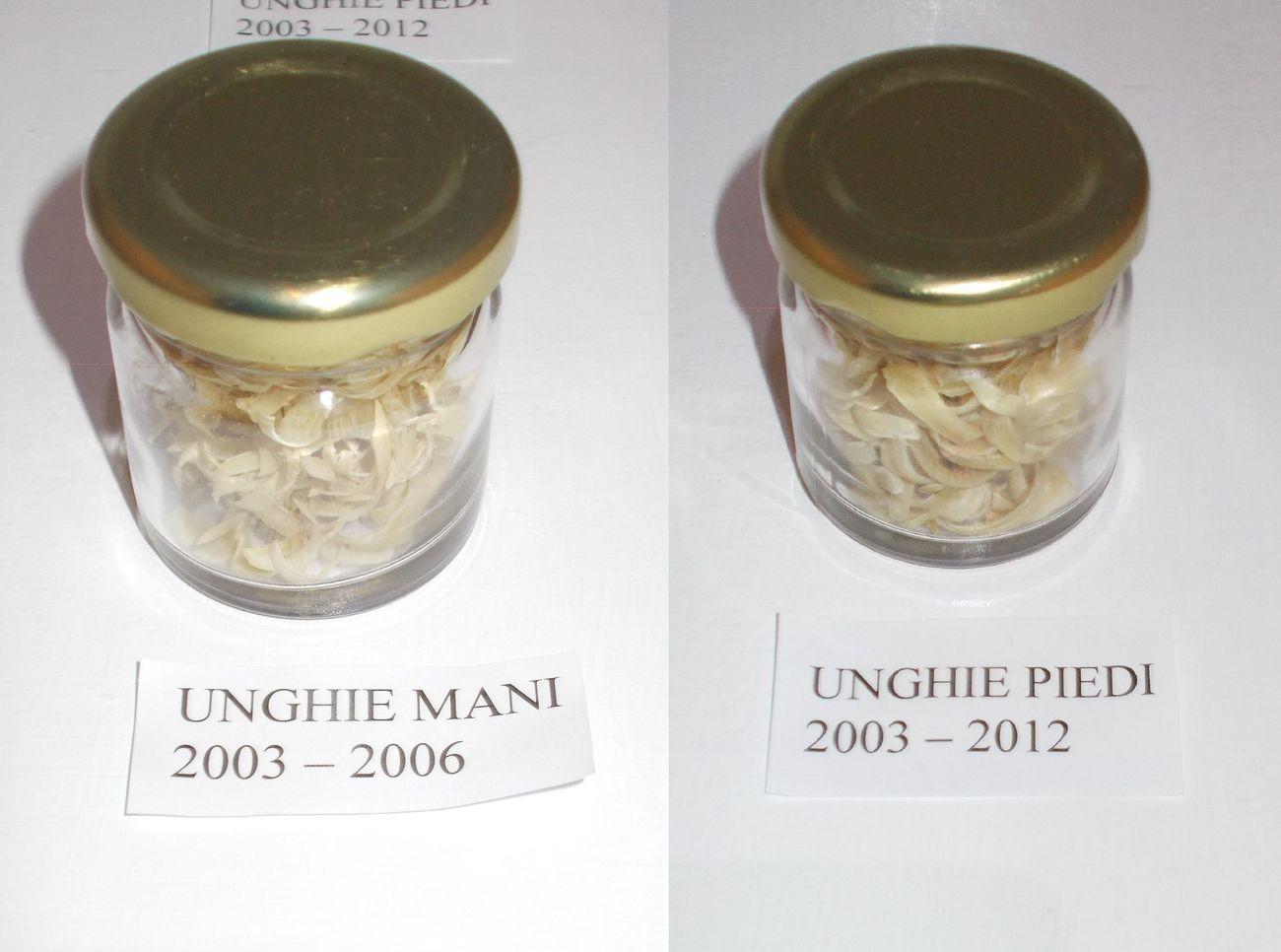Pino Boresta, Unghie, 2003-06 e 2003-12