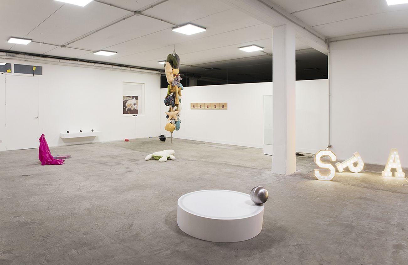 Quando cade la magia, rimane la disinvoltura. Installation view at Spazio In Situ, Roma 2020. Photo Marco De Rosa