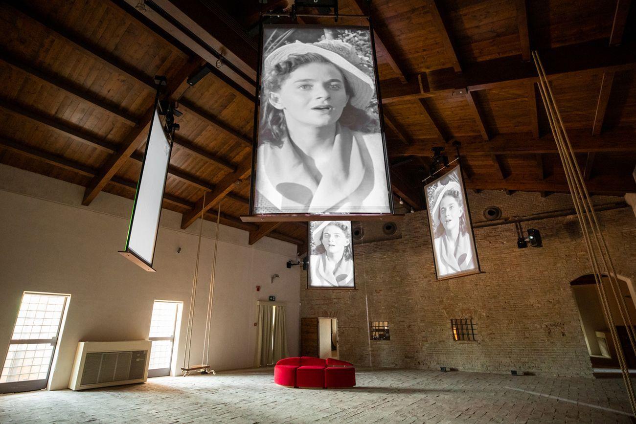 Sala delle Altalene, Fellini Museum, Rimini. Photo Lorenzo Burlando