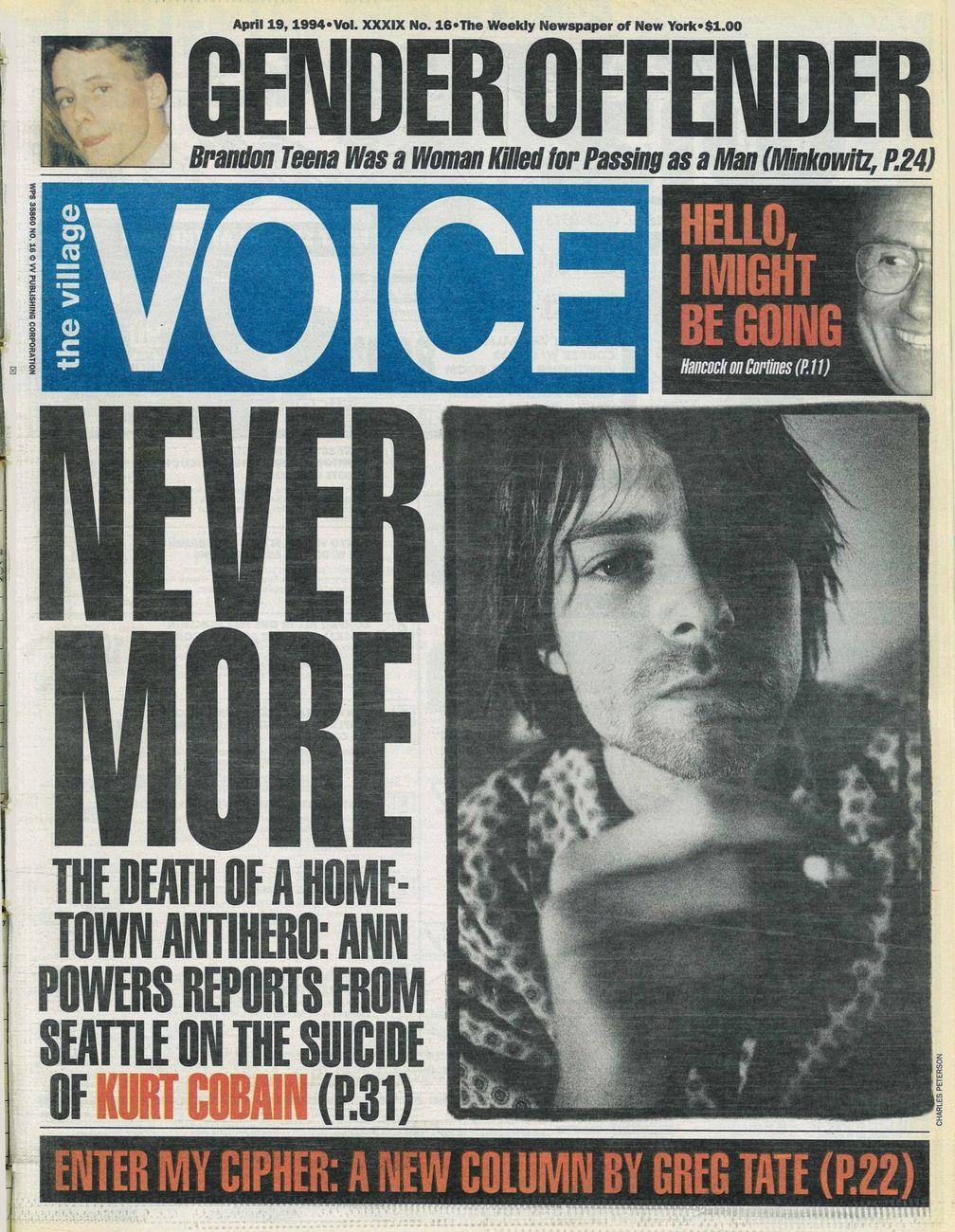 The Village Voice, 19 aprile 1994