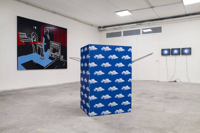 What kind of perversion i'm showing off. Installation view at Spazio In Situ, Roma 2020. Photo Marco De Rosa