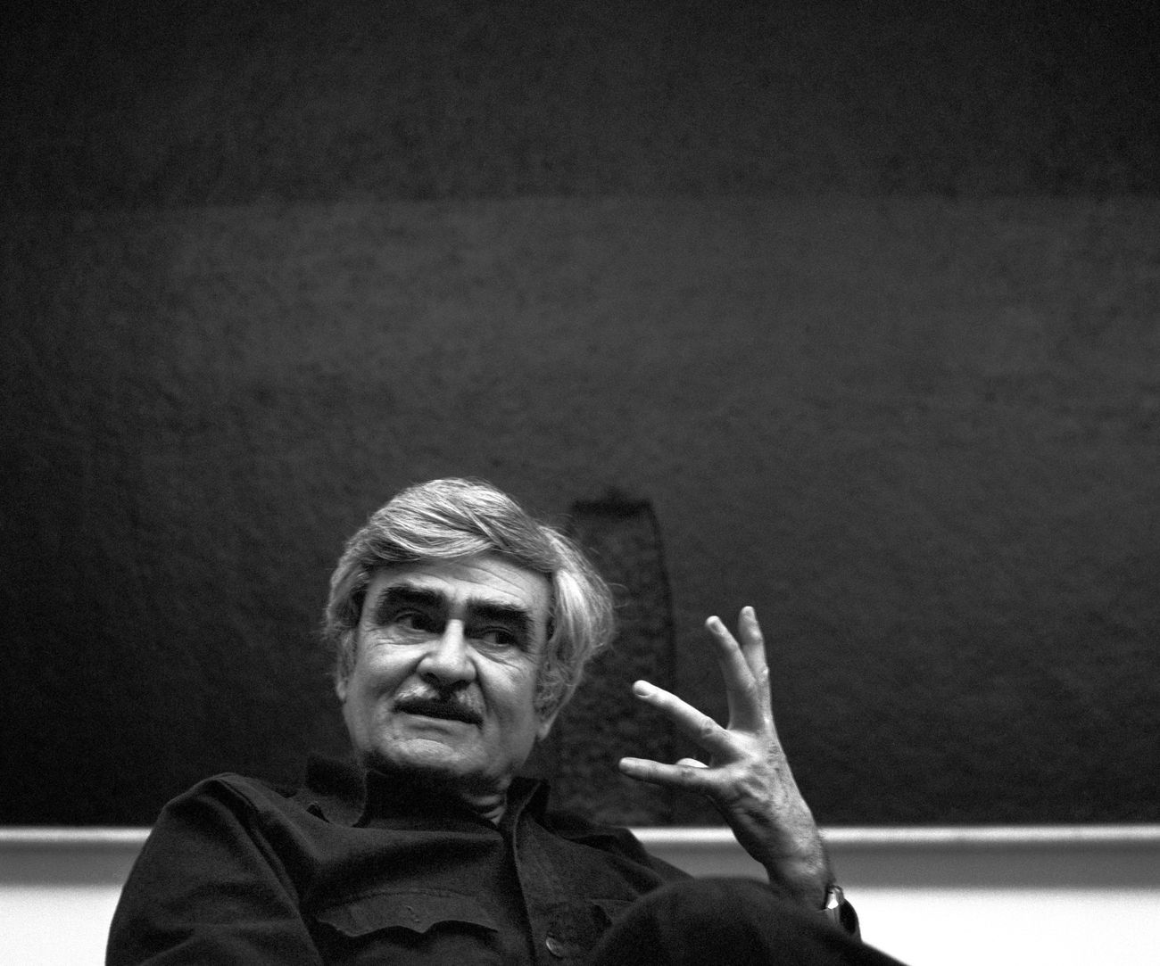 Alberto Burri. Photo © Aurelio Amendola