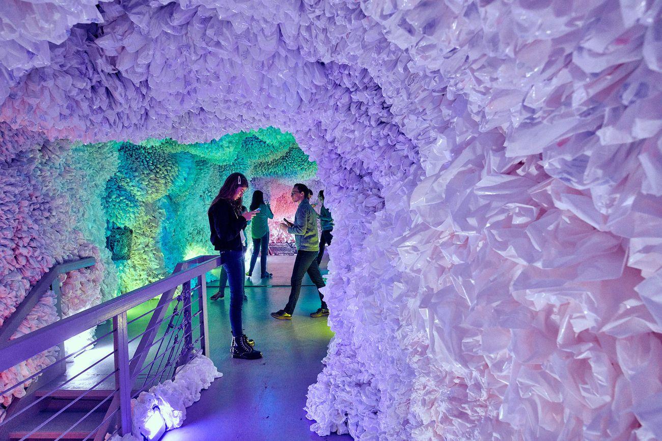 Arcadia Earth Museum, New York City. Basia Goszczynska, The Rainbow Cave