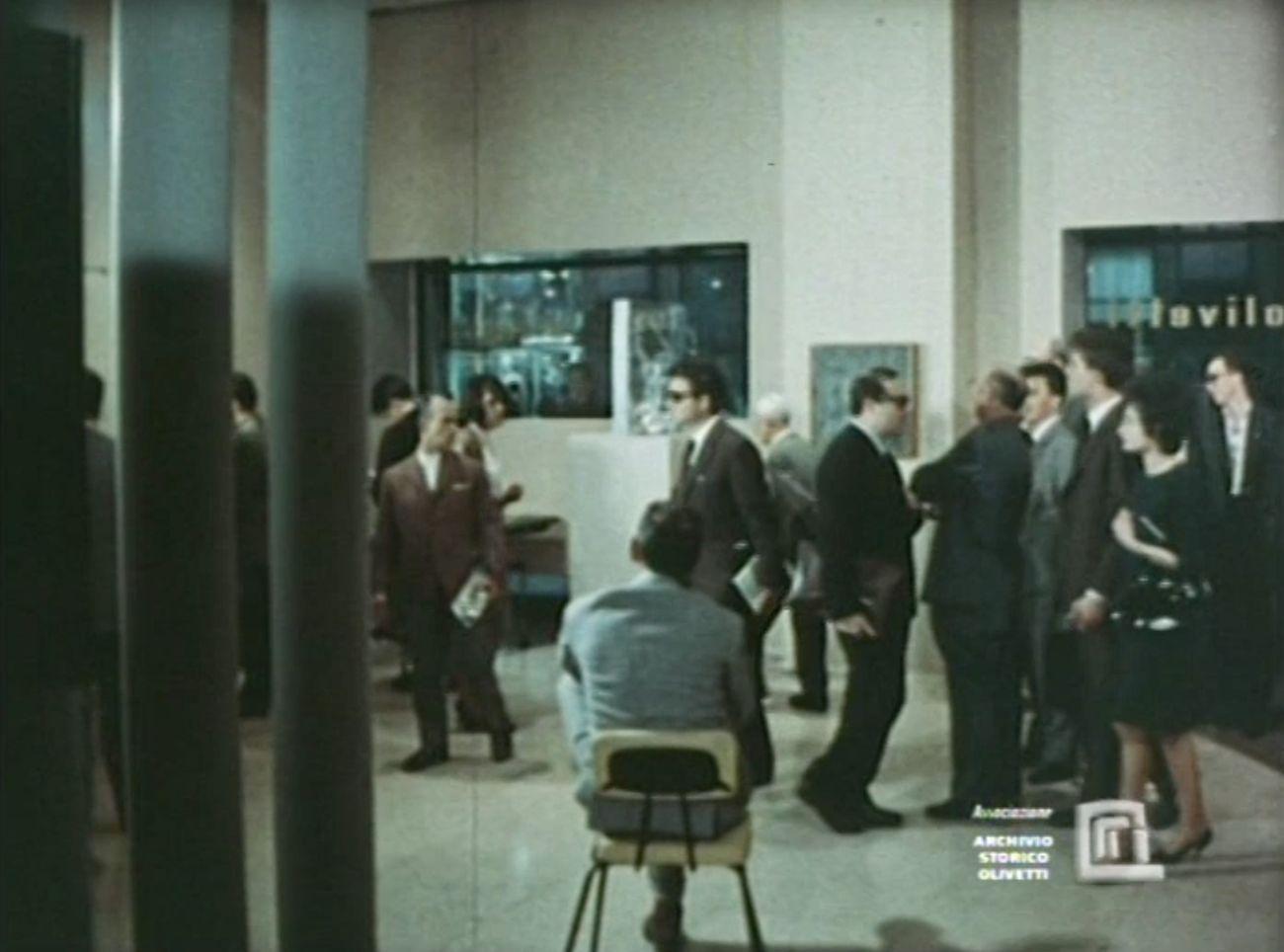 Arte Programmata per conto di Olivetti, 1962, film 16 mm, 10'