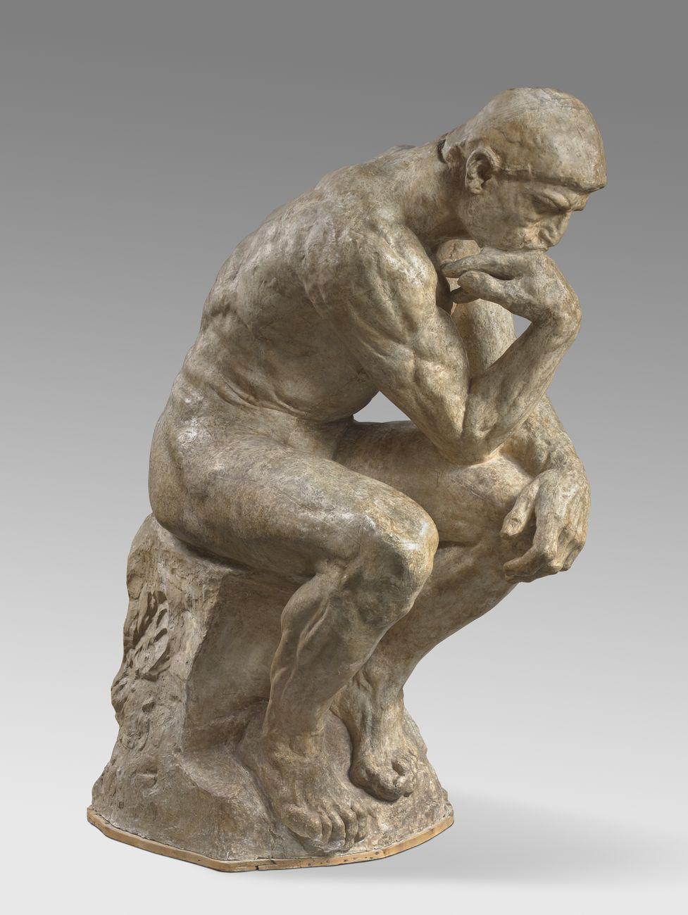 Auguste Rodin, Le Penseur © Musée Rodin – photo Hervé Lewandowski