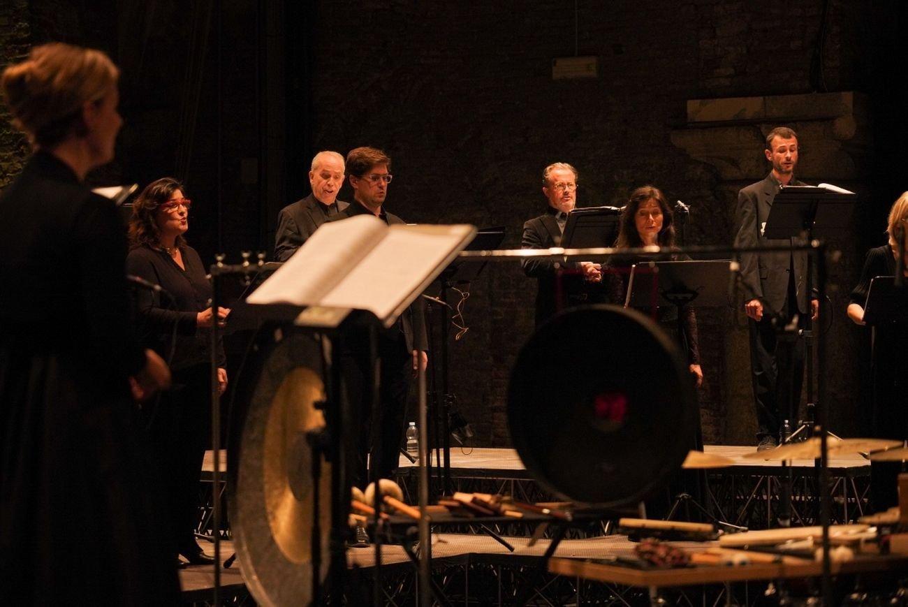 Biennale Musica, Ensemble Accentus in concerto. Courtesy La Biennale di Venezia © Andrea Avezzù