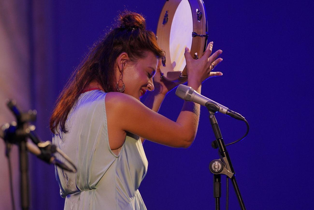Biennale Musica 2021. Il concerto di Elina Duni. Courtesy La Biennale di Venezia © Andrea Avezzù
