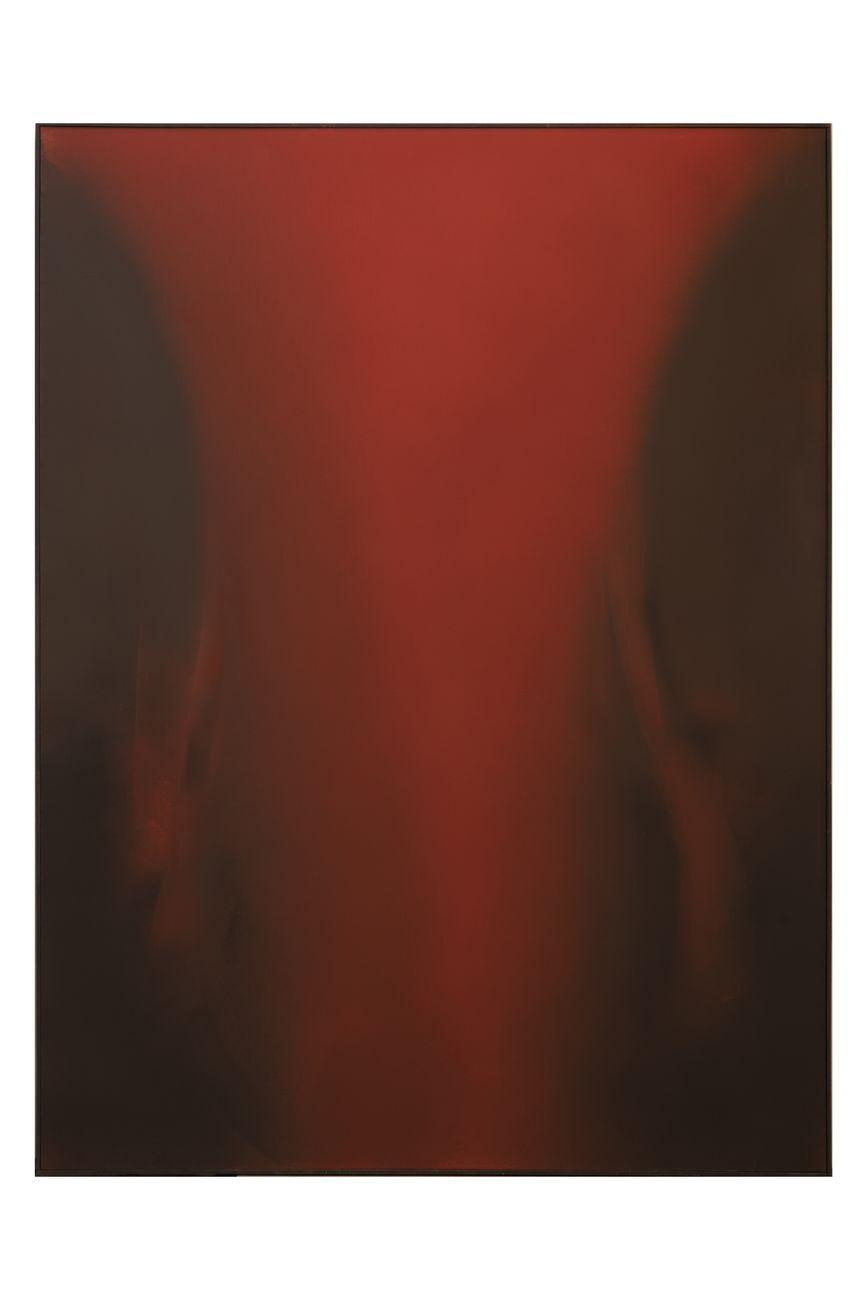 Claudio Olivieri, Rubeo, 2008, olio su tela, 240x180 cm. Photo Fabio Mantegna. Courtesy Archivio Claudio Olivieri, Milano