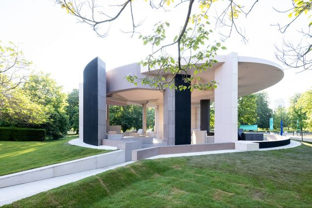Counterspace, Serpentine Pavilion, 2021 © Counterspace. Photo Iwan Baan