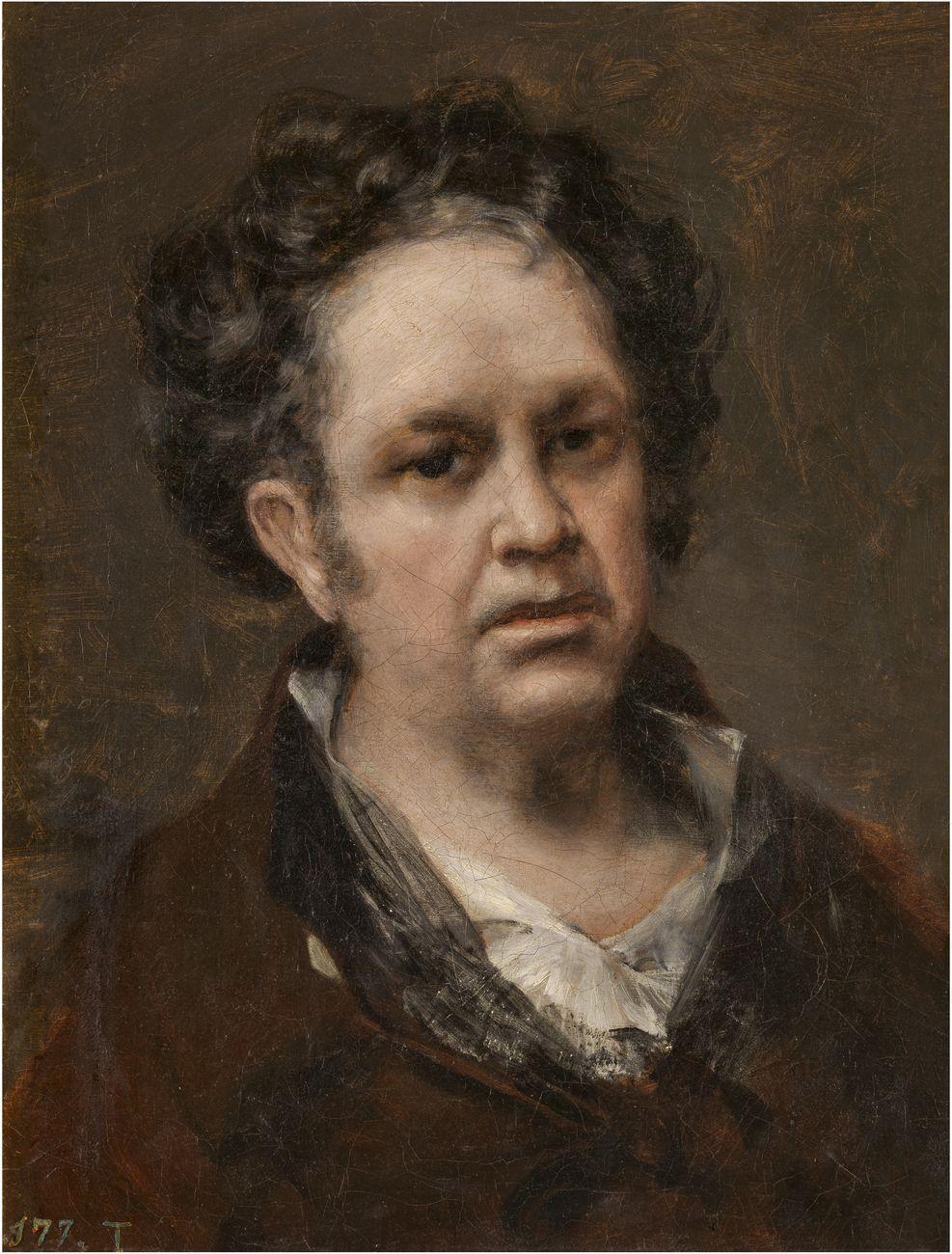 Francisco de Goya, Autorretrato, 1815, olio su tela, 45.8x35.6 cm. Museo Nacional del Prado, Madrid © Photographic Archive. Museo Nacional del Prado. Madrid
