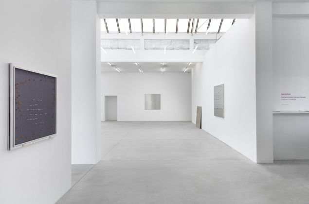 Gabriel Kuri. Threshold Into Deficit (the void after Fontana). Exhibition view at Galleria Franco Noero, Torino 2021. Courtesy Galleria Franco Noero
