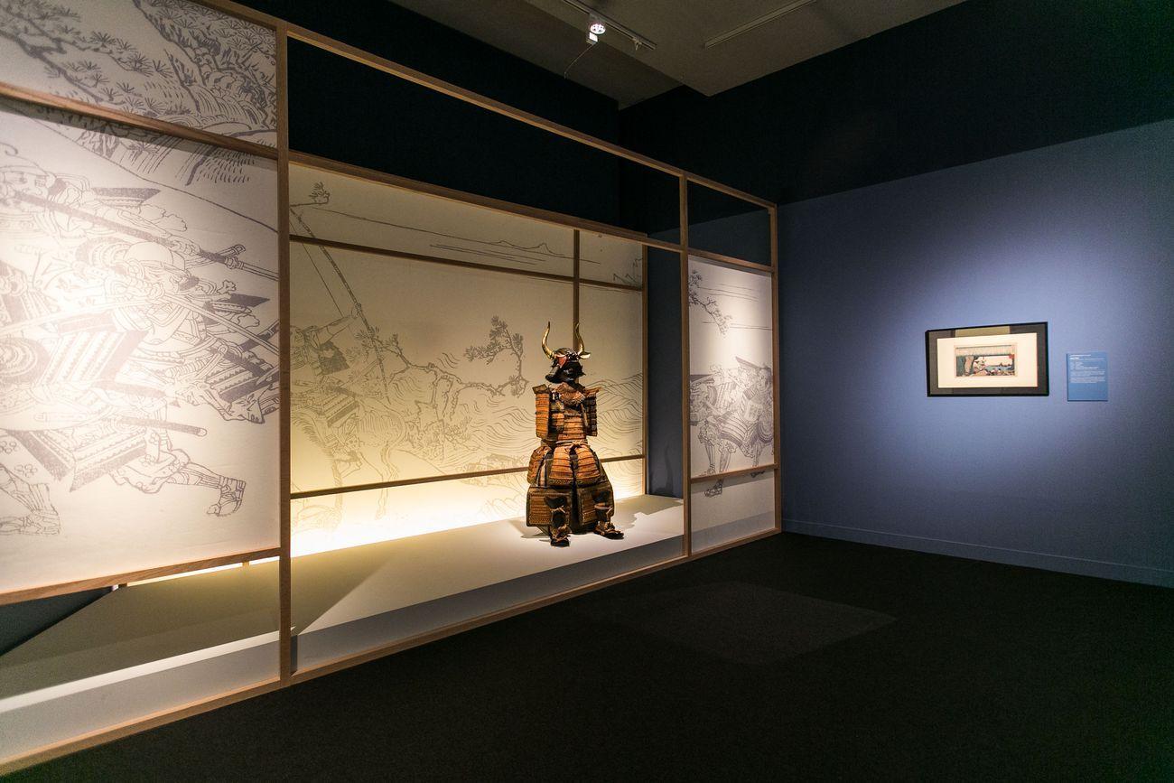 Giappone. Una storia di amore e di guerra. Exhibition view at CentroCentro, Madrid 2021. Photo Lukasz Michalak