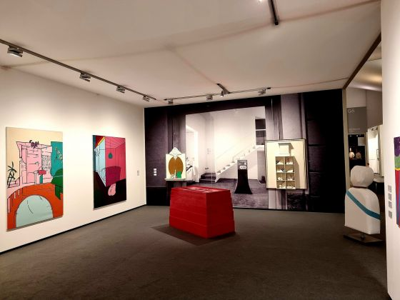 Gio Marconi stand Frieze Masters 2021