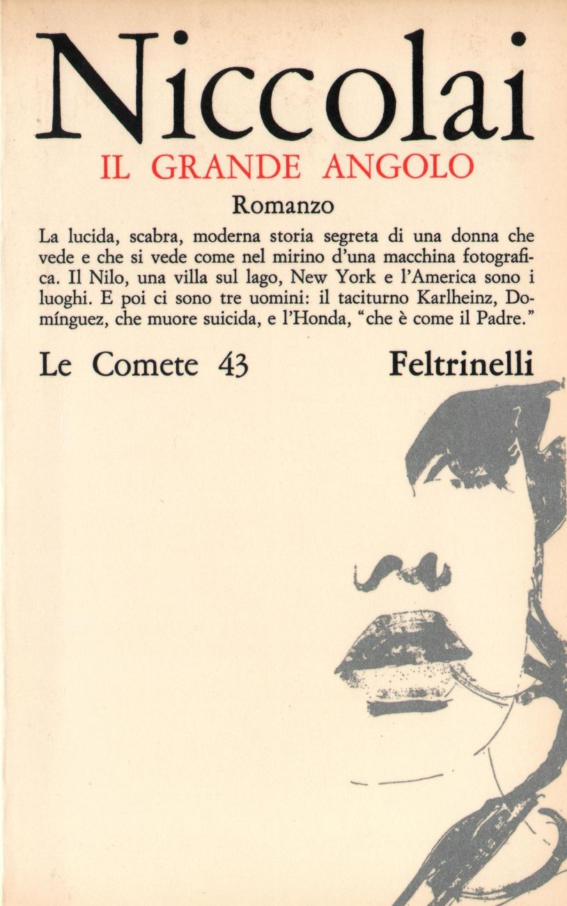 Giulia Niccolai - Il grande angolo (Feltrinelli, Milano 1966). Artwork di Giosetta Fioroni