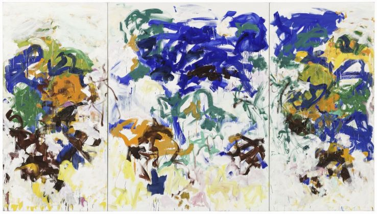 Joan Mitchell, Bracket, 1989. The Doris and Donald Fisher Collection at the San Francisco Museum of Modern Art © Estate of Joan Mitchell. Photo Katherine Du Tiel