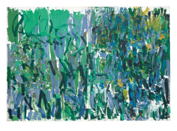 Joan Mitchell, No Rain, 1976. The Museum of Modern Art, New York, gift of the Estate of Joan Mitchell © Estate of Joan Mitchell