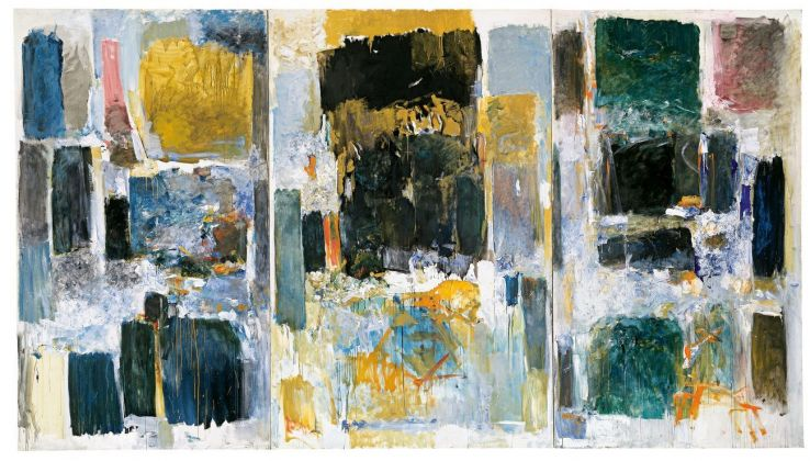 Joan Mitchell, Ode to Joy (A Poem by Frank O'Hara), 1970 71. University at Buffalo Art Galleries, gift of Rebecca Anderson © Estate of Joan Mitchell. Photo Biff Henrich, ING_INK, Buffalo, New York
