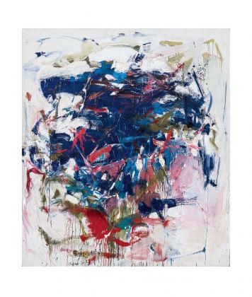 Joan Mitchell, Rock Bottom, 1960 61. Blanton Museum of Art, The University of Texas at Austin, gift of Mari and James A. Michener © Estate of Joan Mitchell