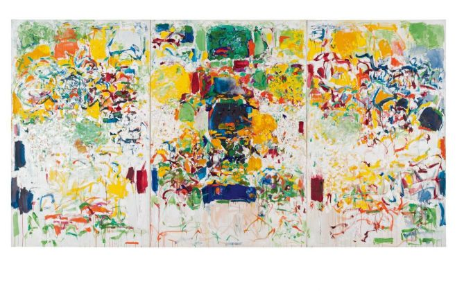 Joan Mitchell, Sans neige, 1969. Carnegie Museum of Art, Pittsburgh, gift of the Hillman Foundation © Estate of Joan Mitchell