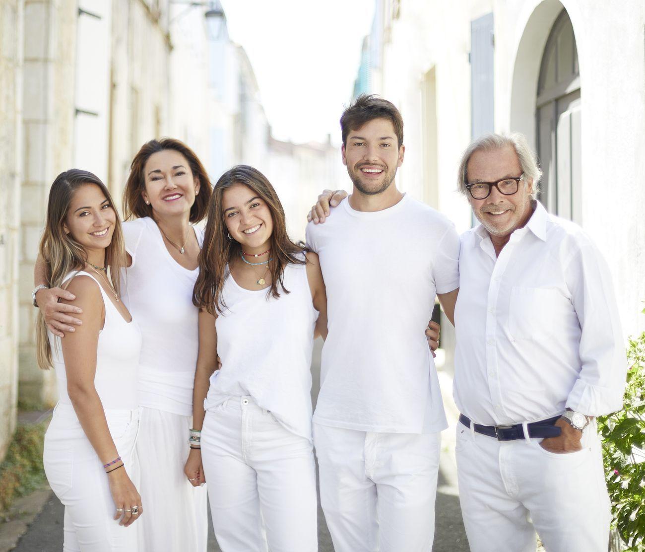 La famiglia Guillon