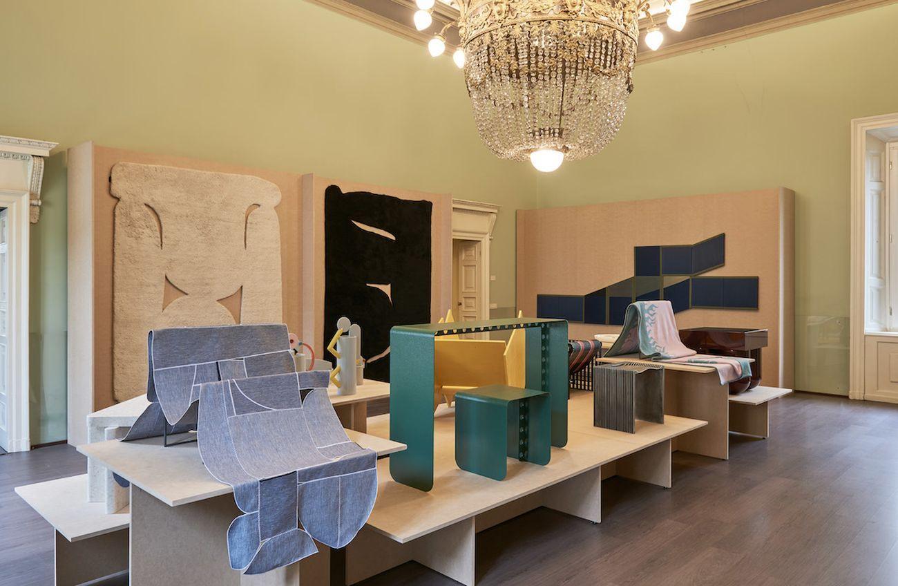 Lake Como Design Festival 2021. 20 21. Exhibition view at Palazzo Valli Bruni, Como 2021