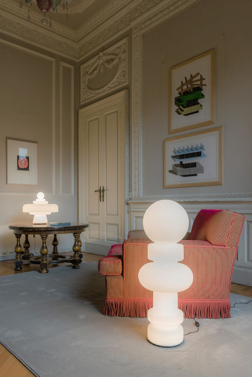 Lake Como Design Festival 2021. Reeditions. Exhibition view at Palazzo Mantero, Como 2021