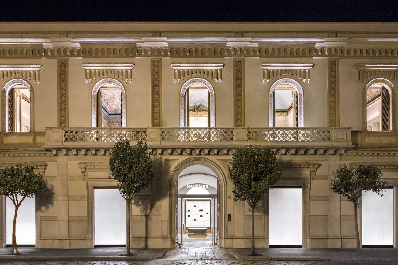 Nugnes. Palazzo Pugliese, Trani. Photo Paola Pansini