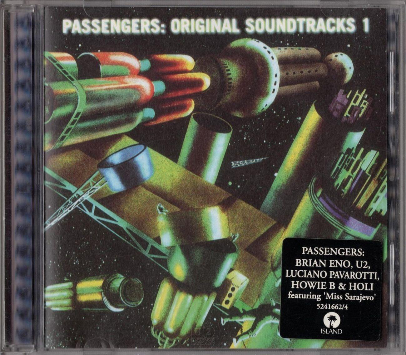 Passengers, Original Soundtracks 1 (1995). Copertina dell'album
