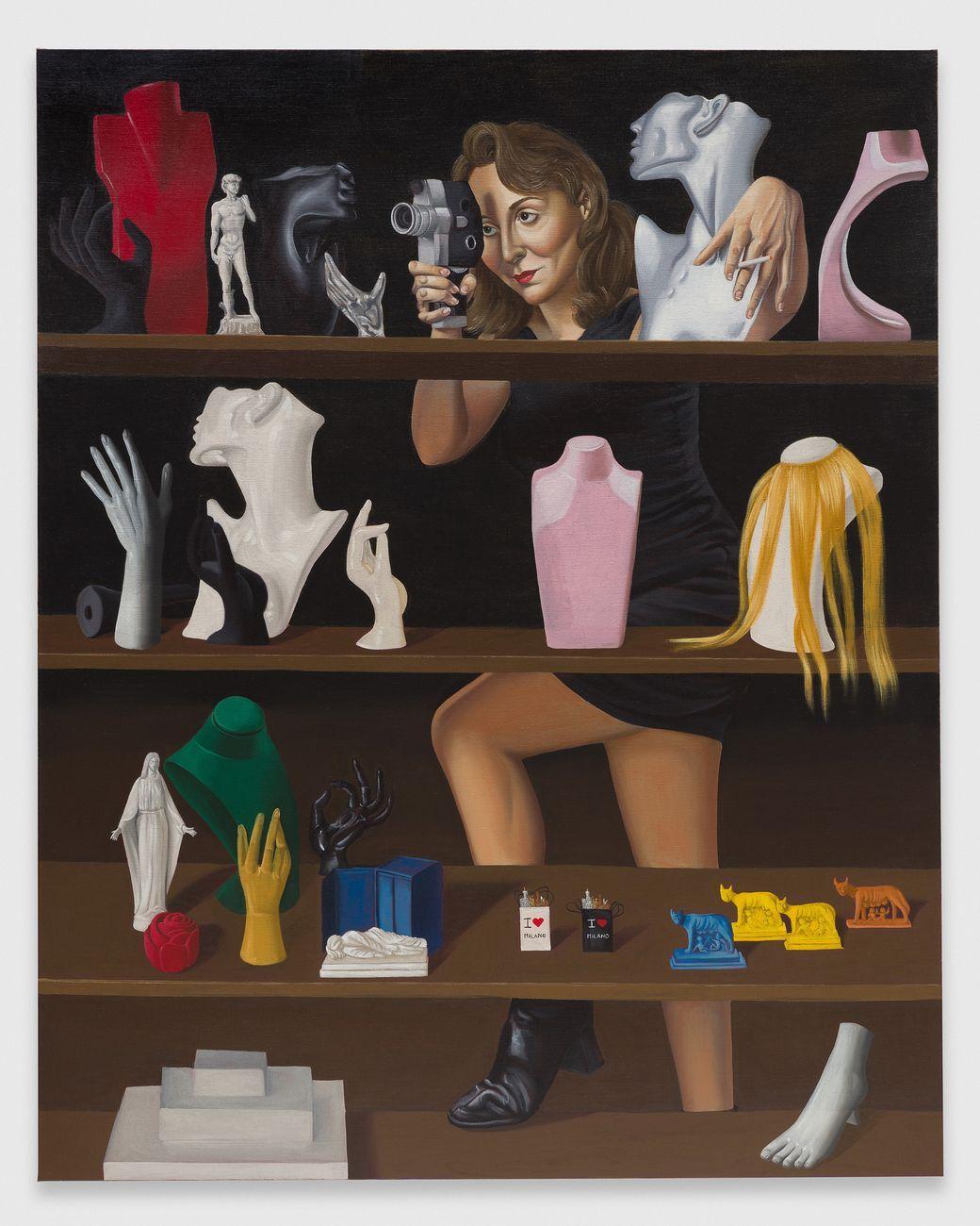 Patrizio Di Massimo, Anna, 2021, olio su lino, 150 × 120 cm. Photo Mark Blower