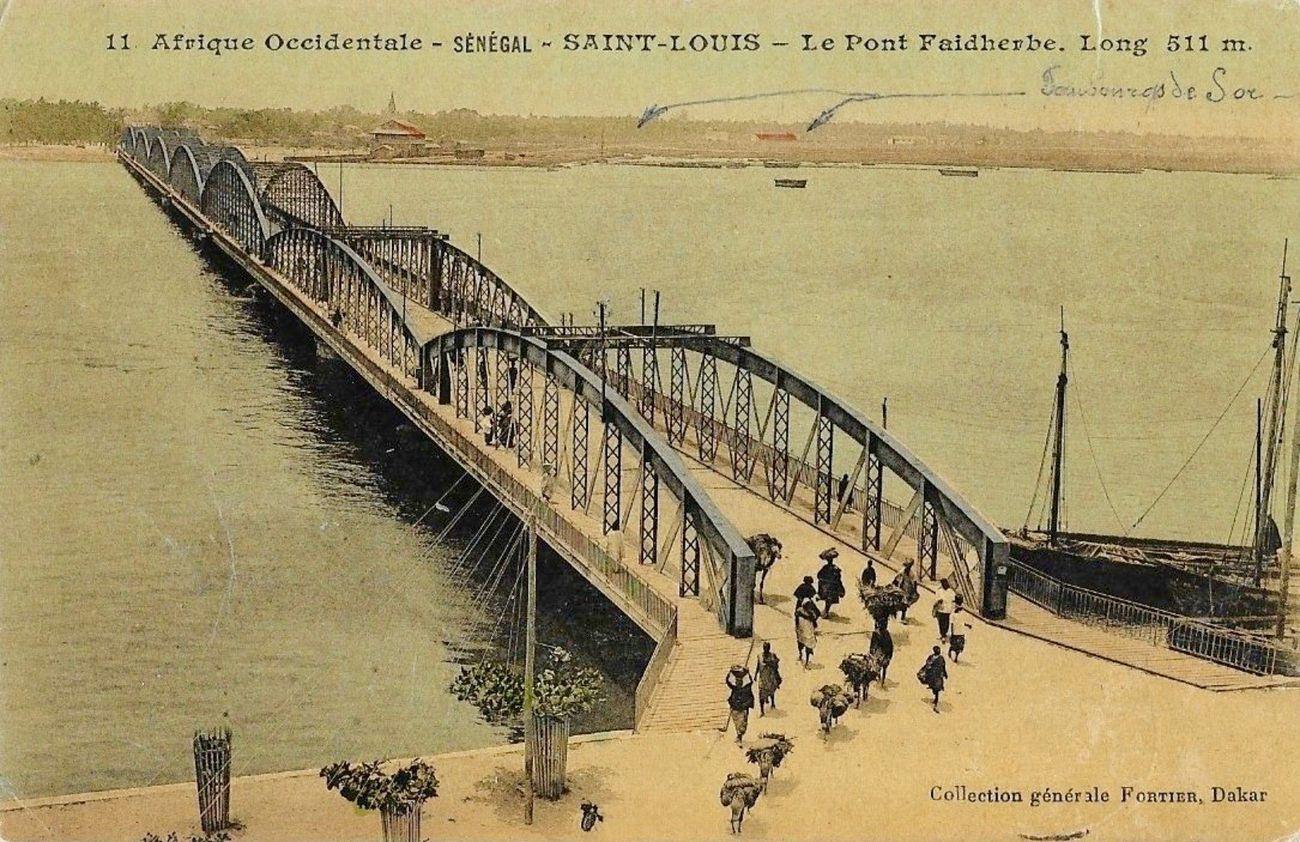 Pont Faidherbe, Saint Louis, Senegal