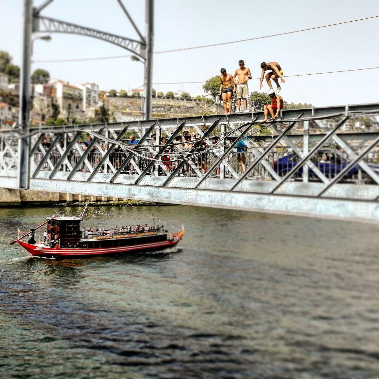 Ponte Dom Luís I, Porto, Portogallo