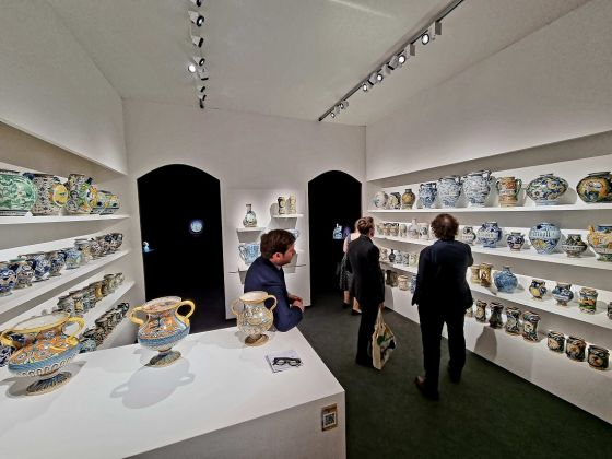 Raccanello Leprince stand Frieze Masters 2021