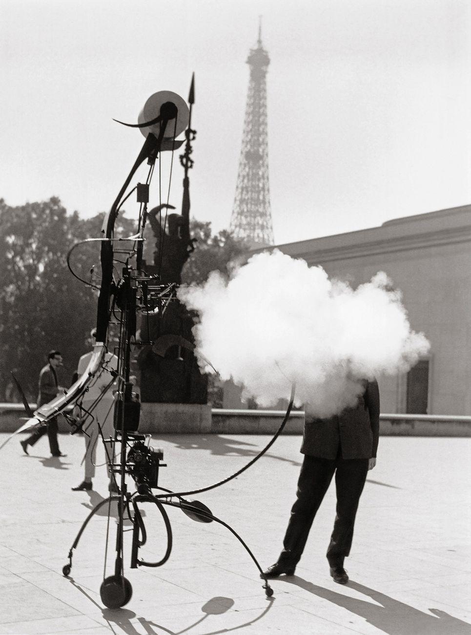 Robert Doisneau, Tinguely. Portrait de l'artiste, Paris, 1959 © Robert Doisneau – Gamma Rapho
