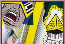 Roy Lichtenstein Reflections Mystical Painting (1989) Courtesy of Sotheby's