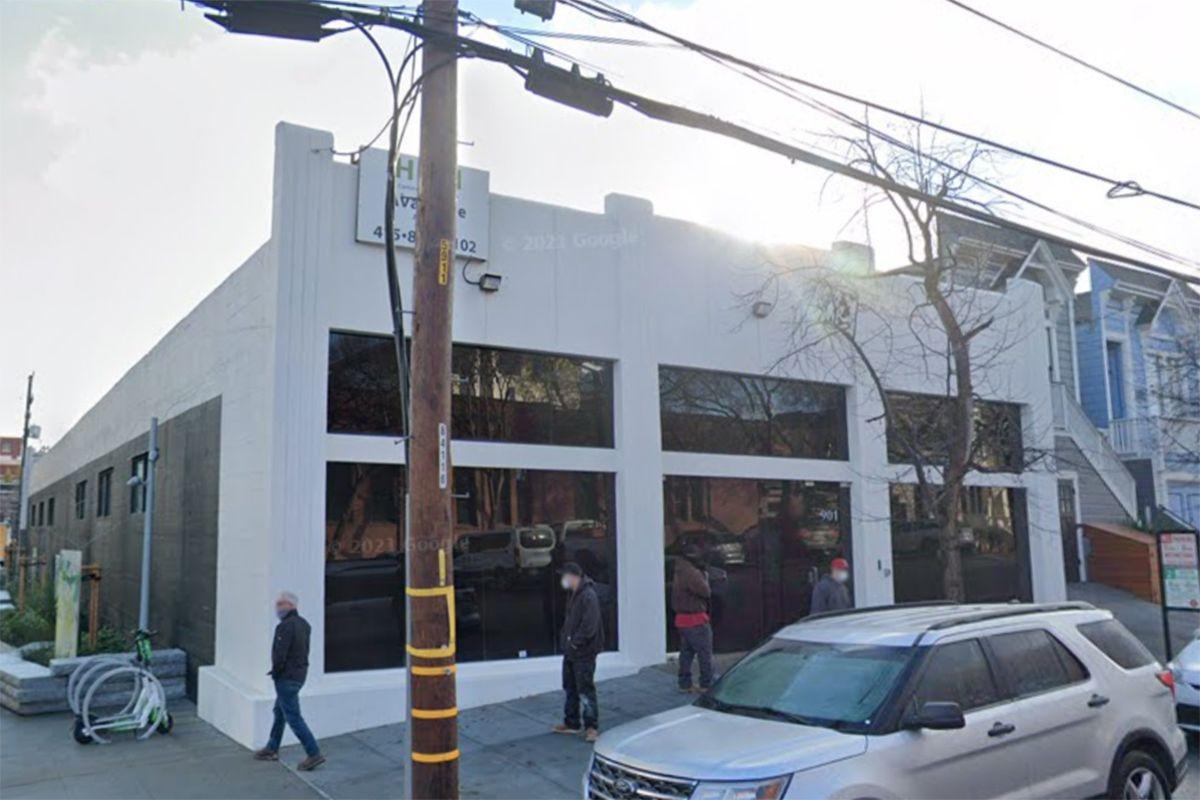 L'esterno del futuro Museo di San Francisco