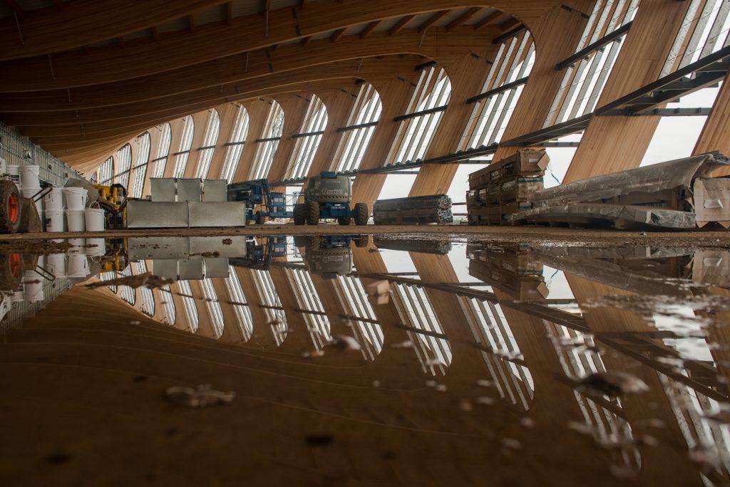 Un interno del futuro Museo. Photo Lorena Larriestra e Nicolas Vidal